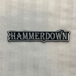 Official Small Hammerdown Sew-On Name Patch